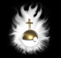 Poke-ball of Jesus by Linardsons