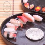 1:6 scale assorted miniature sushi 2 by Snowfern