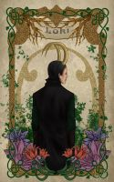 Art nouveau. Loki. by WingedSheep