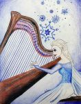 Disney Musicians - Elsa by songbirdholly