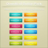 Web Button Pack by ryanbdesigns