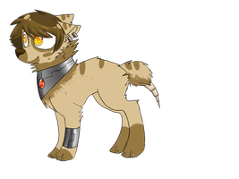 new wolf oc (yay another one) by Zemi-chan