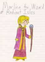 Marlina the Wizard of Radiant Isles by Magic-Kristina-KW