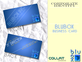 BluBox Business Card by FD-Collateral