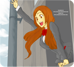 Inoue Orihime Coloring by papanchi