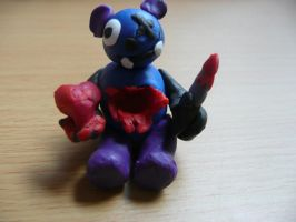 Teddy with Heart Cut Out by NK-Jizzer