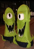 2008 Kang and Kodos by AndrewSalt