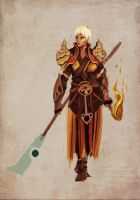Diablo 3 monk. - incomplete by AdamGarib
