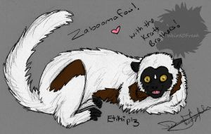 Lemur for Etiki by Weird0Freak