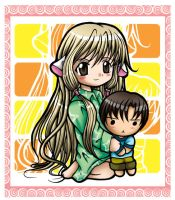Chobits by frysotong