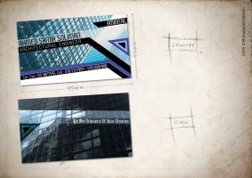 Architect Business Card. by omrantheone
