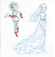 Ghost Alien by Silk-Ward