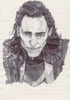 Loki God Of Mischief by RachaelLampardFrance