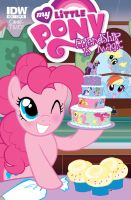 My second My Little Pony RI Cover issue 28 by MaryBellamy