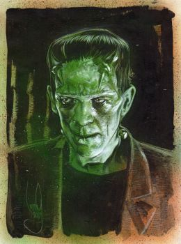 Frankenstein's Monster by JeffLafferty