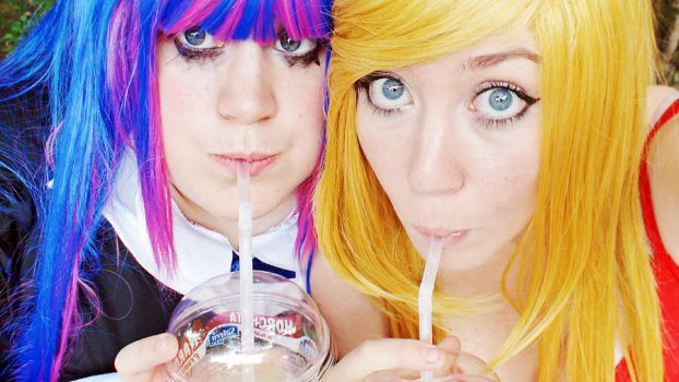 Panty and Stocking  - Sweet and fresh by BannanaDreams