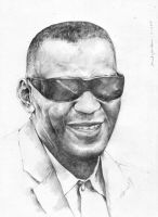 Ray Charles by prab-prab