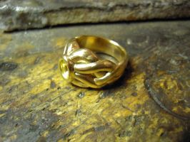 curved gold by Debals