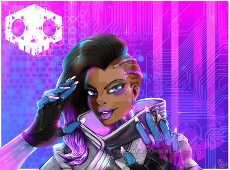 Who is sombra? by Mikkynga