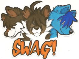 SWAG!!! by Silverfang98