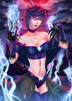 Magic Knight Contest - Myrna the Soul Collector by Luran-V