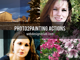 Photo2Painting Free Actions by xara24