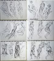 239 256 (1000 gesture drawing challenge) by anime-master-96
