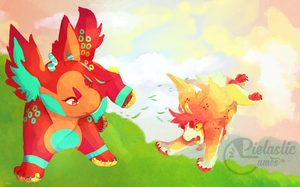 [Crederia+Animated] .:Spring's First Steps 2:. by Pietastic-games