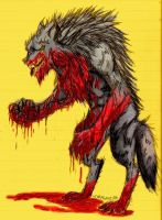 werewolf by dragonz136