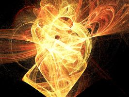 Fractal - Heart of Flame by Aidelon