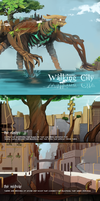 Walking City Reference by MiryuuChan