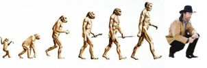 chuck norris evolution by david-timmons-art