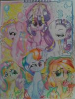 The Rainbow Power Ponies by Simple-Talent