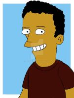 Me as a Simpson by derianl