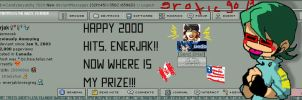 2000 HITS FOR ENERJAK by candybeyatch