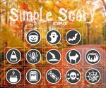 +Simple Scary Icons by MrsNarniaSwag