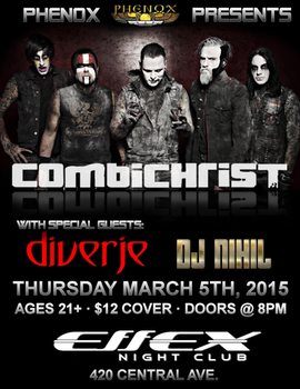 Combichrist Flyer by Ravenmoon08