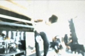 Mitch Lucker-Lucky foot stomp GIF by ComeAtMePeasants
