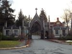 Forest Hill Cemetery's Gatehouse by sgath92
