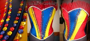 Circus Ring Leader Corset by Natalie526