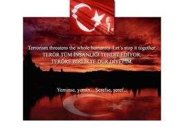 STOP TERORISM by DMRmrt