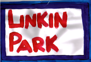 Linkin Park - Painting by jess13795