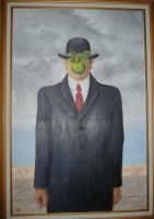 Magritte Paraphrase by taichiorange