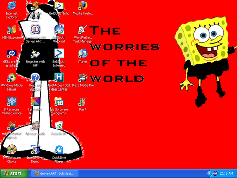 My Desktop 1 by HomestarCutie7