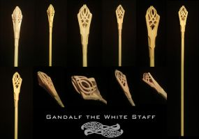 Gandalf staff by DiscoveringArtWorld