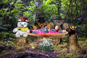 Teddy Bear's Picnic by Loulou13