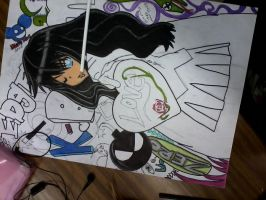 Anime my love... in progress by salmuchis3