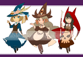 Witches [CLOSED] by aketan-adopts