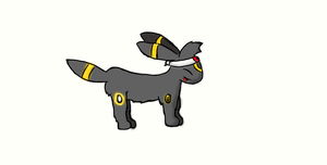 TREVOR THE UMBREON by FieryTheQuilava