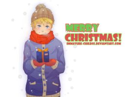 Naruto- Merry Christmas by Immature-Child02